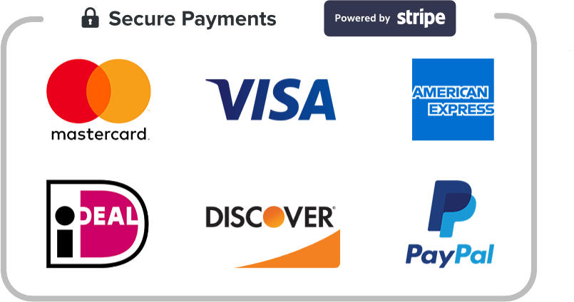 Logos of various payment gateways